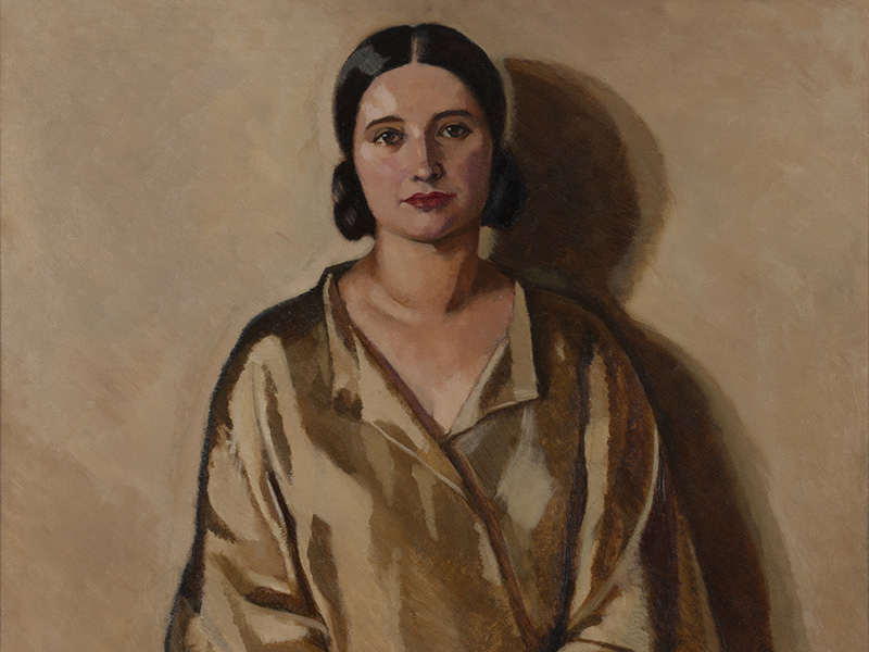 Lilias Torrance Newton, Portrait of Madame Lily Valty, Collection of Glenbow