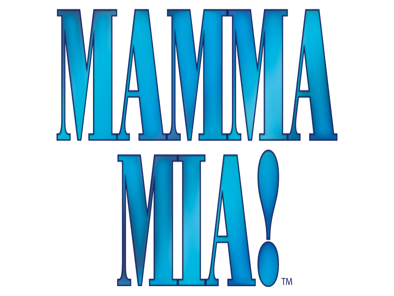 A graphic for Mamma Mia