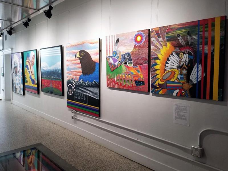 Making Treaty 7's Indigenous Art Exhibition at cSPACE King Edward