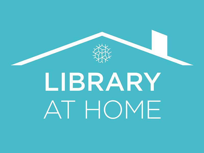 Library at Home logo