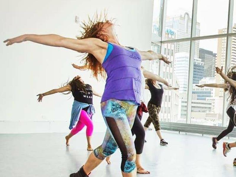 Dancers at the DJD Dance Centre