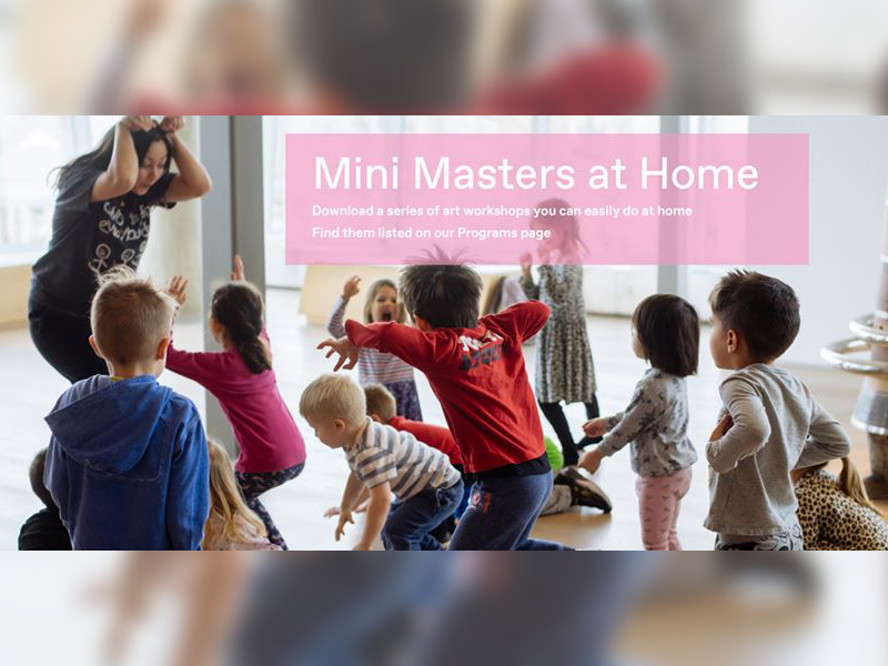 A graphic for Mini Masters at Home