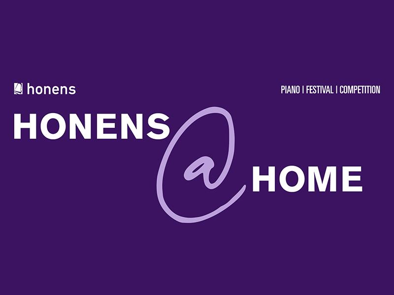 A graphic for Honens @ Home