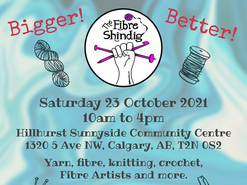 A graphic for The Fibre Shindig