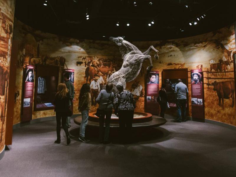 The Mavericks exhibit at Glenbow