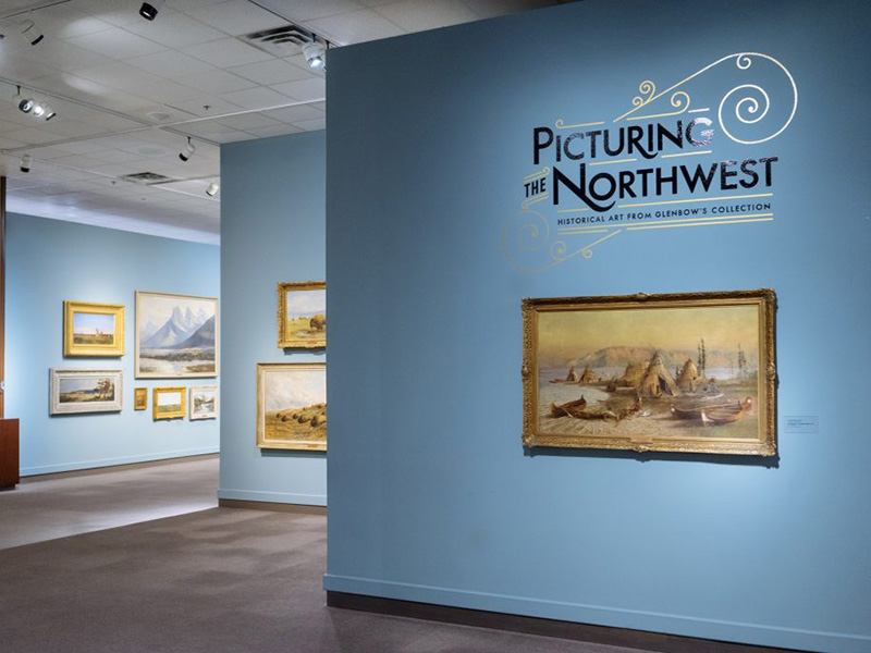 The Picturing the Northwest gallery at Glenbow