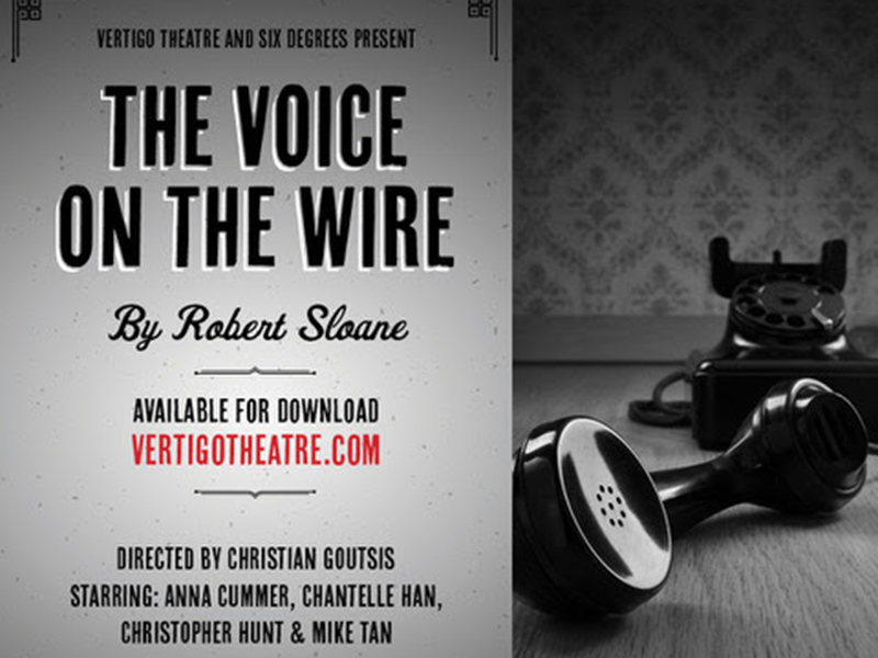 A graphic for The Voice on the Wire