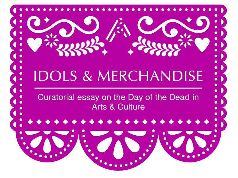 A graphic for Idols and Merchandise