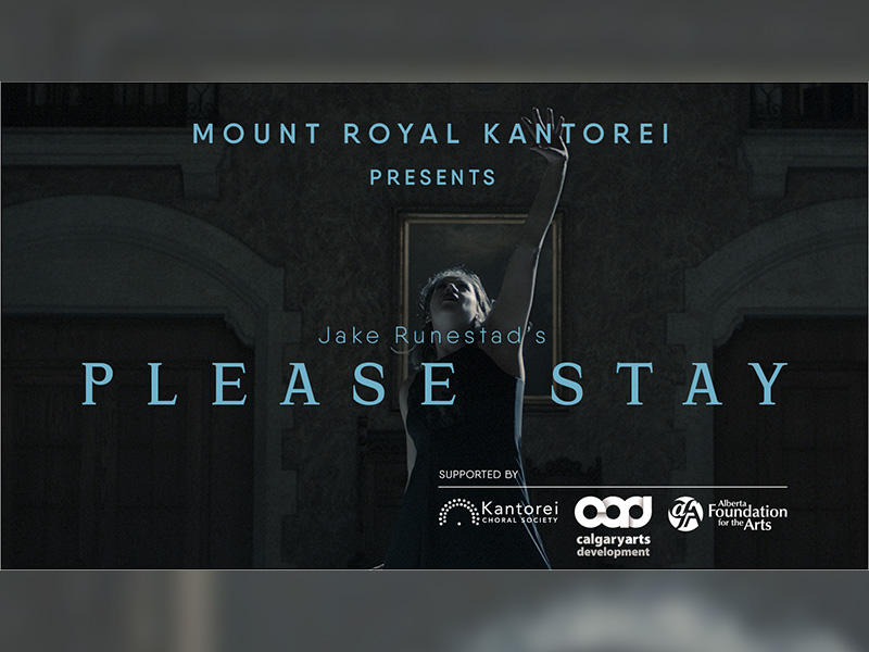 A graphic for Please Stay