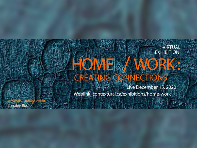 A graphic for Home/Work: Creating Connections