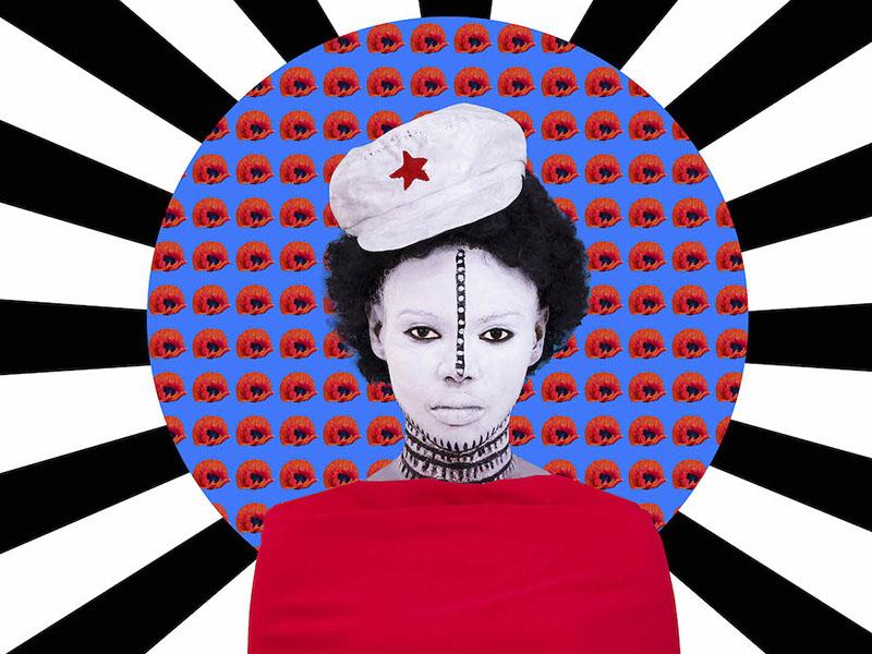 A piece by Aida Muluneh