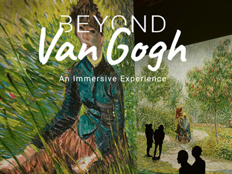 A graphic for Beyond Van Gogh: An Immersive Experience