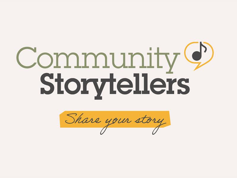 Community Storytellers graphic
