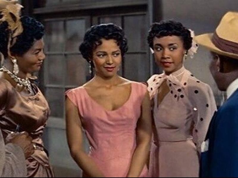 An image of 4 people from the movie Carmen Jones