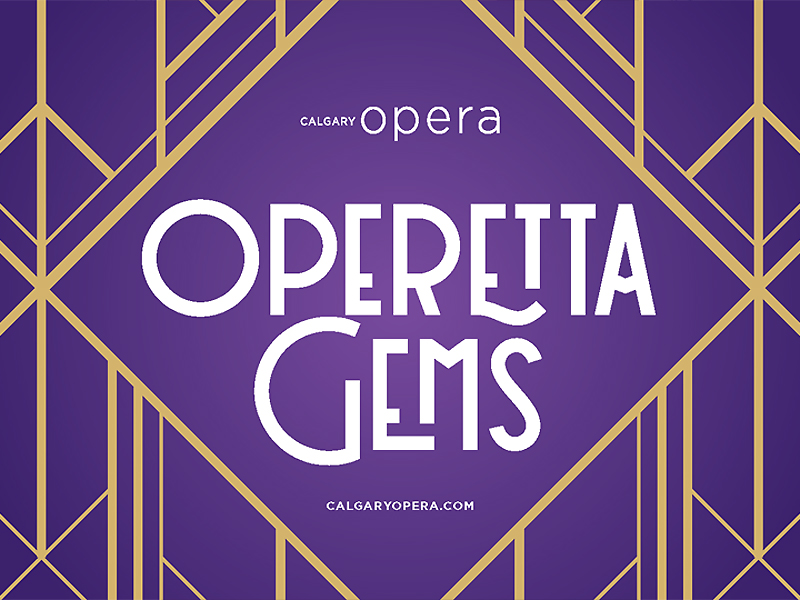 An image of an ad for Operetta Gems